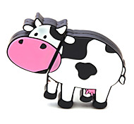 ZPK40 64GB Milk Cow Cartoon USB 2.0 Flash Memory Drive U Stick