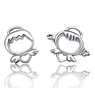 Lureme®  Korean Fashion 925  Sterling Silver Ttmix Angel Earrings