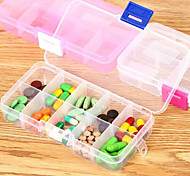 Travel Pill Box/CaseForTravel Accessories for Emergency Plastic 13*7*2cm