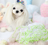 Dog Coat White / Blue / Pink Dog Clothes Summer Fashion