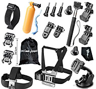 Accessories For GoProProtective Case / Monopod / Gopro Case/Bags / Screw / Buoy / Suction Cup / Straps / Clip / Hand Grips/Finger Grooves
