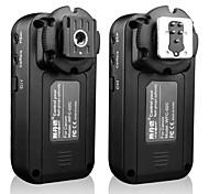 sidande wfc-02c disparador de flash inalámbrico de 2,4 GHz 3 grupos de 5 canales para Canon DSLR 5D3 6d 7d 60d 70d 600d 700d 100d EOS