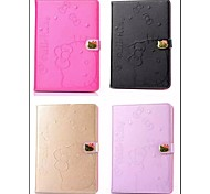 Hello Kitty Magnetic Flap PU Leather Case with Stand for iPad 2/3 The New iPad / iPad 4