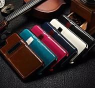 caso de couro estilo carteira com slot para cartão para iPhone 6 Plus / 6s mais