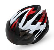 Casque Vélo ( Jaune / Vert / Rouge / Rose dragée / Bleu , EPU (Polyuréthane électronique) )-de Femme / Homme / Unisexe -Cyclisme /
