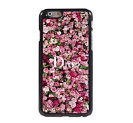 Flower Pattern Aluminum Hard Case for iPhone 6/6S