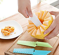 1 Piece Cutter & Slicer For Fruit / Vegetable Stainless Steel Creative Kitchen Gadget / Eco-Friendly / High Quality