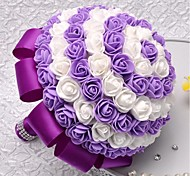 High Quality SRed Rose Bouquet Artificial Flower Highly Realistic Rose Flower Simulation Artificial Flower for Wedding