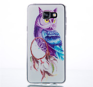 Owl Pattern TPU Phone sets For Galaxy A3/A9/A310/A510/A710