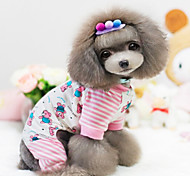 Dog Coat Pink Dog Clothes Winter Fashion