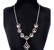 MPL The new folk style Fashion Pendant Necklace geometric