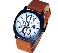 Men's Watch Leisure Sports Quartz Belt Watch Wrist Watch Cool Watch Unique Watch