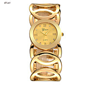 Women's Fashion Stainless Steel Band Quartz Analog Bangle Watch