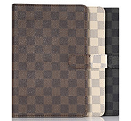 Lattice Pattern Sleep Function Leather Case for Samsung Galaxy Tab S2 9.7/T815