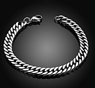 Personality Retro Men's Stainless Steel Bracelet Christmas Gifts