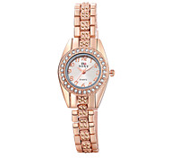 New Luxury Rhinestone Bracelet Women Watch Ladies circle case small Quartz Watch Women Wristwatch waterproof WH0027