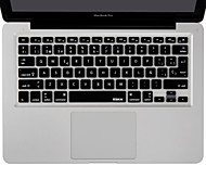 XSKN Spanish Language Keyboard Cover Silicone Skin for Macbook Air/Macbook Pro 13 15 17 Inch US/EU version