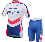 XINTOWN Bike Bicycle Jersey Short Outdoor Cycling Clothing Sportswear Suit