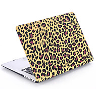 "Dark Leopard Print Style PC Materials Water Stick Flat Shell For MacBook Pro 13 ""/Pro 15 """