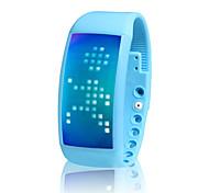 Smart-Armband / AktivitätenTracker / Smart Uhr Verbrannte Kalorien / Übungs Tabelle / Timer / Schrittzähler / Touchscreen / LED IR / USB