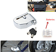 Iztoss 7mm Pin Motorcycle Safety Auto-alarm Scooter Moped Anti Thief Wheel Disc Lock Alarm Security Brakes Rotor