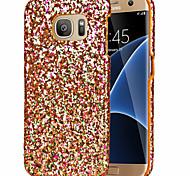 Для Samsung Galaxy S7 Edge С узором Кейс для Задняя крышка Кейс для Сияние и блеск PC Samsung S7 edge / S7 / S6 edge / S6