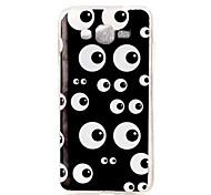 Lovely Eyes Pattern TPU Soft Case Phone Case For Samsung Galaxy J5/J1/G530