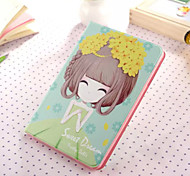 Little Girl Series One PU Leather Full Body Case With Stand for iPad Mini 3/2/1