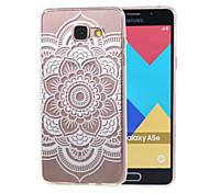 полые цветок новый мягкий TPU задняя крышка чехол для Samsung Galaxy a3 (2016) a310 a310f / a5 (2016) A510 a510f-6