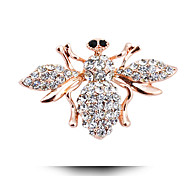 Korean Version Of The New Fashion Cute Little Bee Insect Brooch