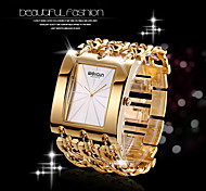 WEIQIN® Women's Square Dial Bangle Watches Ladies Gold Silver Chain Bracelet Watches Quartz Wristwatch relogio feminino