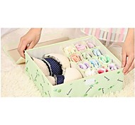 Storage Boxes Textile with A storage box , Feature is Lidded , For Underwear