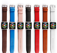 Genuine Leather Strap Wristband With Free Adapters for Apple Watch/ Sport/ Edition 42mm|38mm