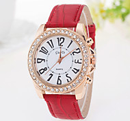 Ladies' Watch Casual Fashion Belt Diamond Quartz Watch