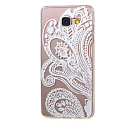 New Lace Flowers Hollow Pattern TPU Case for Samsung Galaxy A5(2016)/A3(2016)