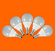 Bombillas LED de Globo FSL G60 E14 / E26/E27 3W 5pcs SMD 2835 200 lm Blanco Cálido / Blanco Fresco AC 100-240 V 5 piezas