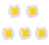 5pcs 20w 1800lm 3000K / 6000K warmweiß / kaltweiß LED-Chip (30-35v 600mA)