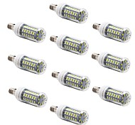 10Pcs E14 E27 G9 10W 69x5730SMD 1000LM Warm White/Cool white Light LED Corn Bulb (AC220V-240V)
