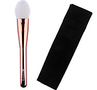 Lashining High Quality Professional Blush Brush Gift One Black Flannelette Like Metallic handle