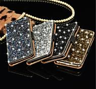 Kristalldiamant-Brieftasche Flip-Karte Fallabdeckung für Samsung s7 / s7 Rand