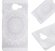 caja de la flor patrón PC Phone material para Samsung Galaxy a3 (2016) / A5 (2016) / A7 (2016)