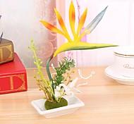 High Quality Strelitzia Flower Semboitement  Silk Flower Artificial Flowers for home Decoration Wedding Decoration