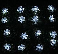 König ro 100LED 8-Modus Weihnachten dekoratives Schnurlicht Schneeflocke (kl0035-rgb, weiß, warmweiß)
