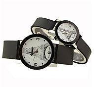 Eiffel Tower simple fashion watch couple models (men and women each one)