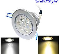 Luci da soffitto 7 LED ad alta intesità YouOKLight Intensità regolabile / Decorativo 700 LM Bianco caldo / Luce fredda 1 pezzoAC 220-240