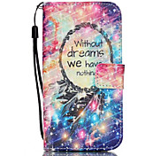Xinghai Featherst Pattern PU Material Card Lanyard Case for Samsung Galaxy S7/S7Edge