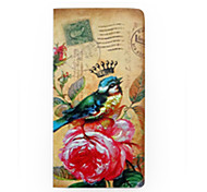 Old Fashion Form and Blue Bird Design Notebook  40Pages (1 Book)
