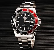 Men's Classic Mechanical Steel Band Wrist Watch