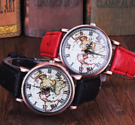 High Quality FeiFan Brand Vintage Leather Strap Watch World Map Watch Unisex Quartz watches