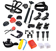 31 Accessori GoProMontaggio / Monopiede / Con bretelle / Boje / Clip / Dispositivo anti-nebbia / Adesivo / Impugnature / Accessori Kit /